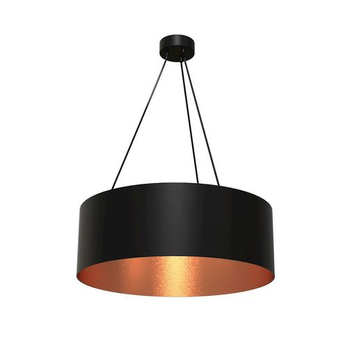 Black Hanging Lamp Robin 3x E27