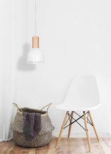 Dex White 1x E27 Hanging Lamp small 1