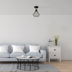 Black Jewel Black 1x E27 Ceiling Lamp small 1