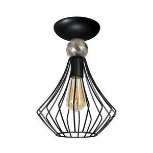Black Jewel Black 1x E27 Ceiling Lamp small 0