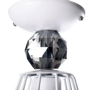 Jewel White 1x E27 White Ceiling Lamp small 4