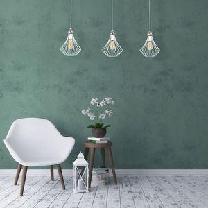 White Jewel White Hanging Lamp 3x E27 small 1