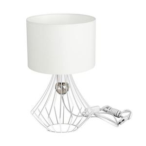 Jewel White 1x E27 Table Lamp small 0