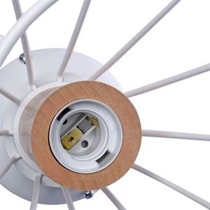 Will White 1x E27 Ceiling Lamp small 1