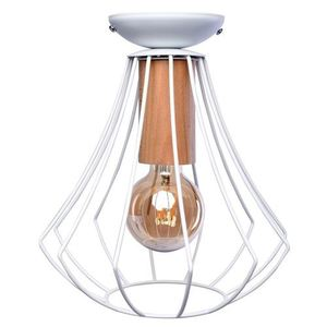 Will White 1x E27 Ceiling Lamp small 0