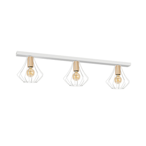 Will White 3x E27 Ceiling Lamp small 0