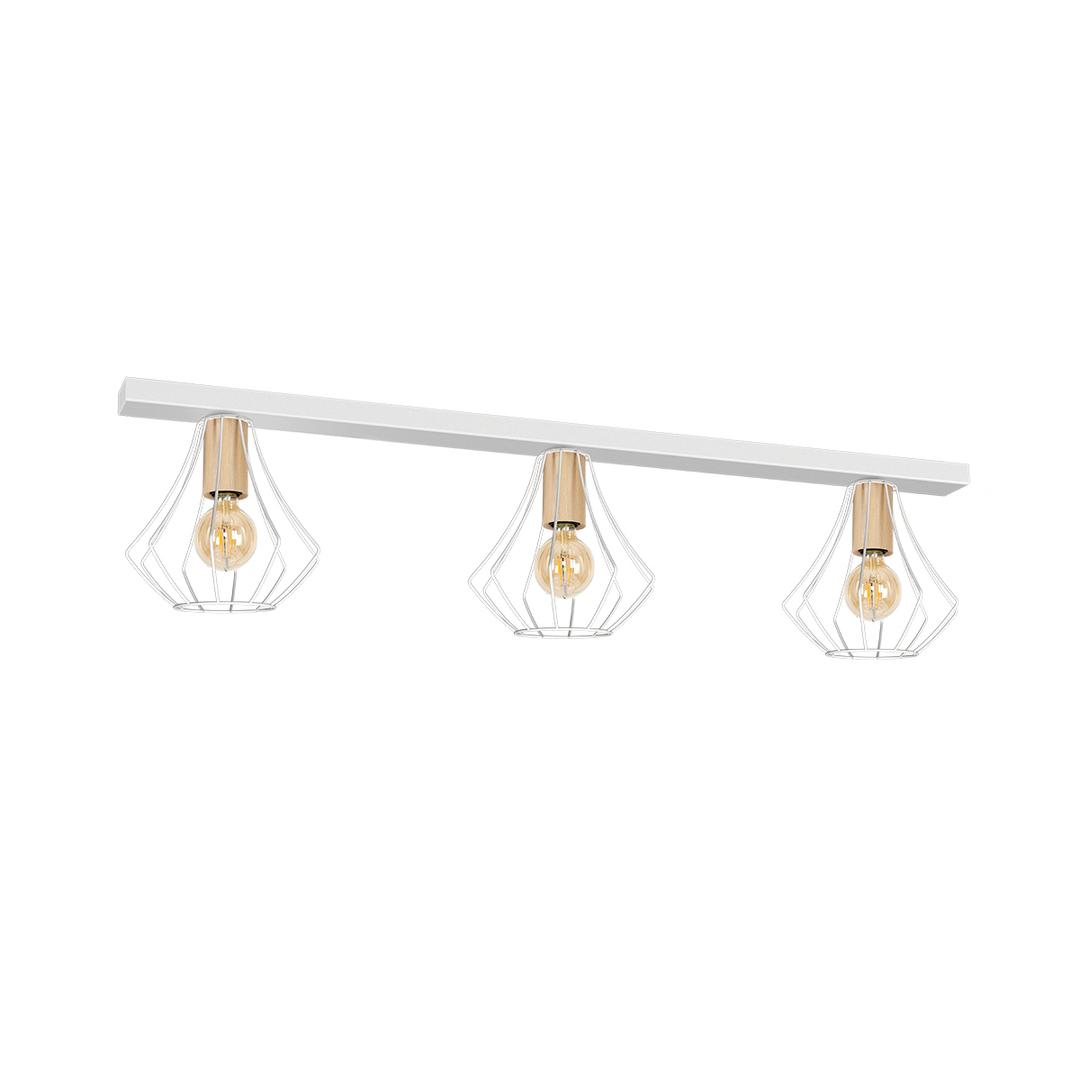 Will White 3x E27 Ceiling Lamp