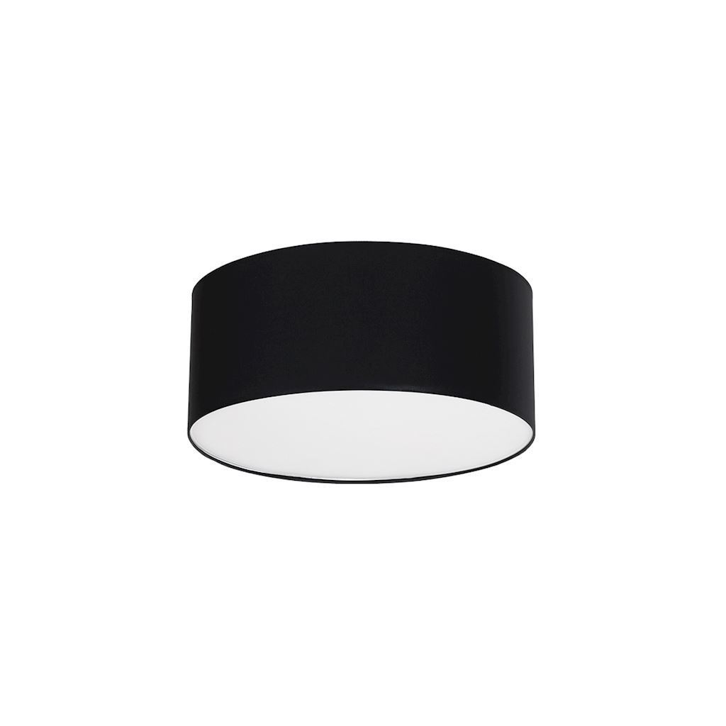 Black Ceiling Lamp Bari Black 3x E27