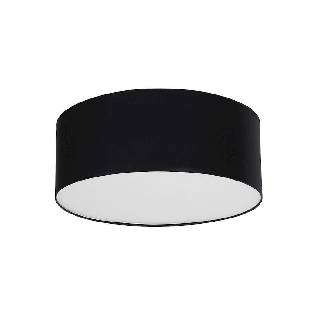 Black Ceiling Lamp Bari Black 3x E27