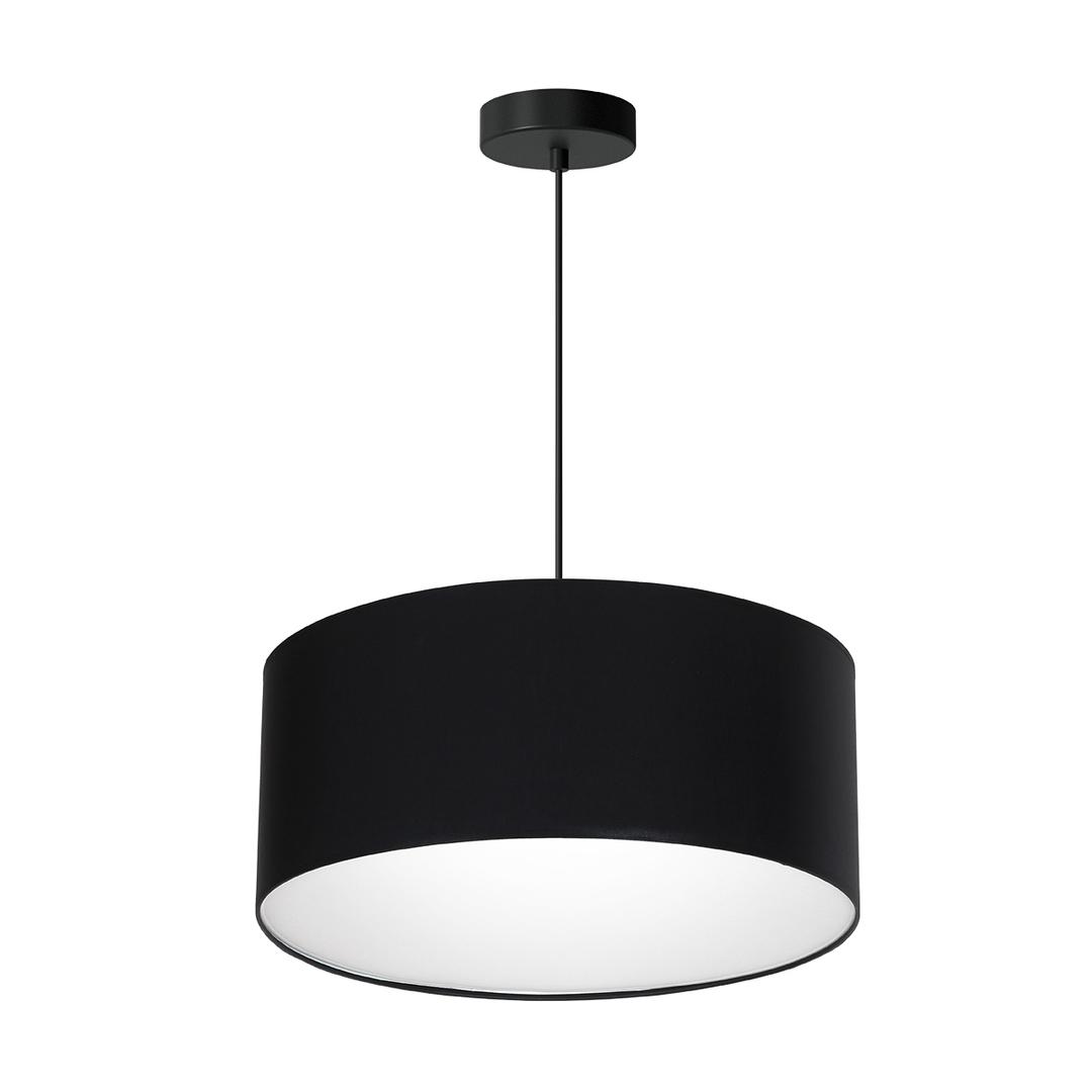 Black Hanging Lamp Bari Black 3x E27