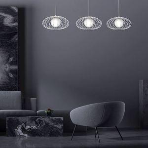 White Hanging Lamp Kronos White 3x E14 small 1