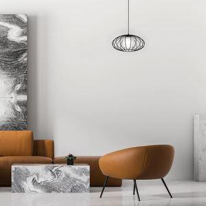 Black Kronos Black 1x E14 Hanging Lamp small 2