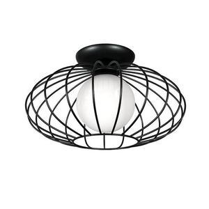Black Kronos Black 1x E14 Ceiling Lamp small 0