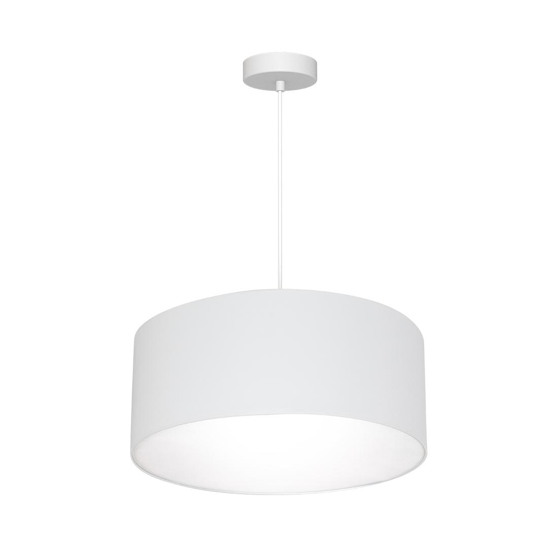 White Hanging Lamp Bari White 3x E27