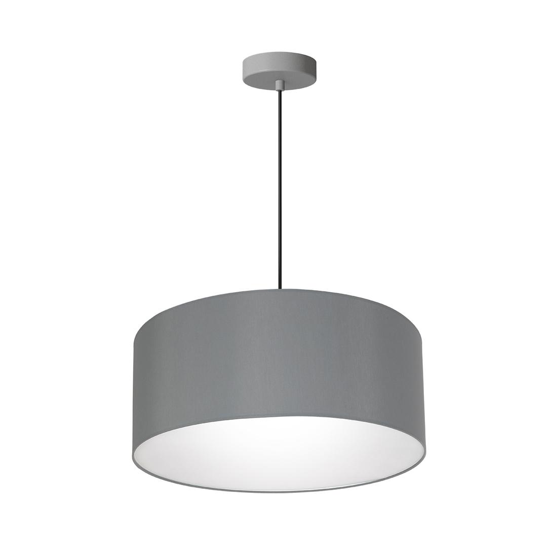 Gray Hanging Lamp Bari Gray 3x E27