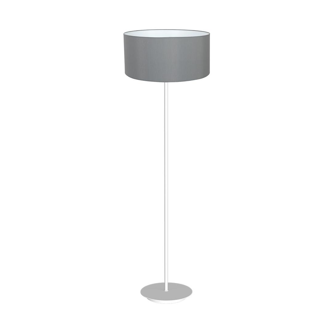 Gray Standing Lamp Bari Gray 1x E27