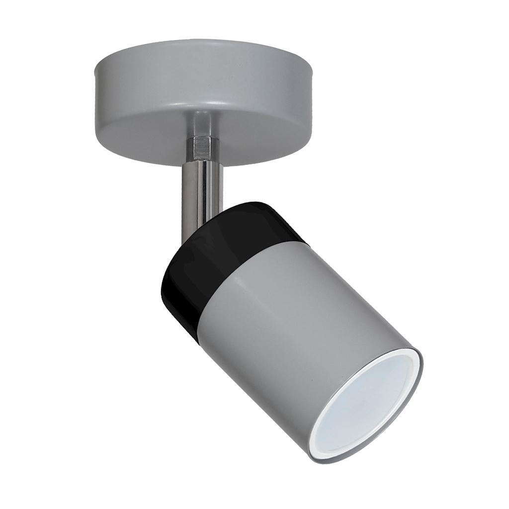 Gray Wall lamp Joker Gray 1x Gu10