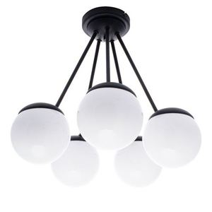 Black Ceiling Lamp Sfera Black 5x E14 small 0