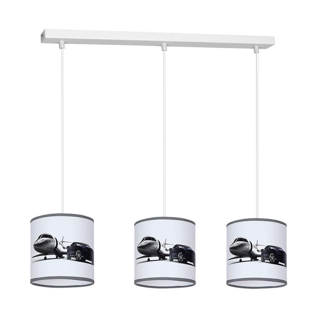 Multicolor Hanging Lamp Jet 3x E27