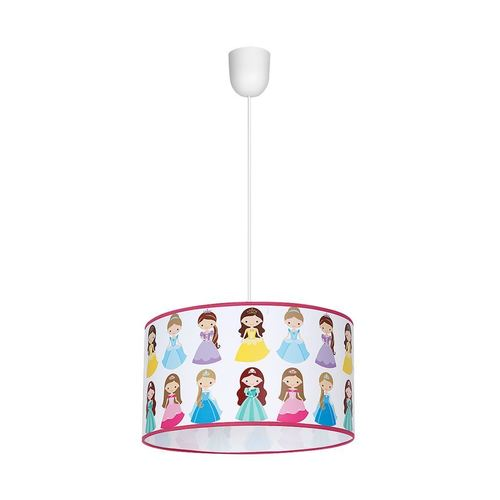 Multicolor 1x E27 Princess Hanging Lamp