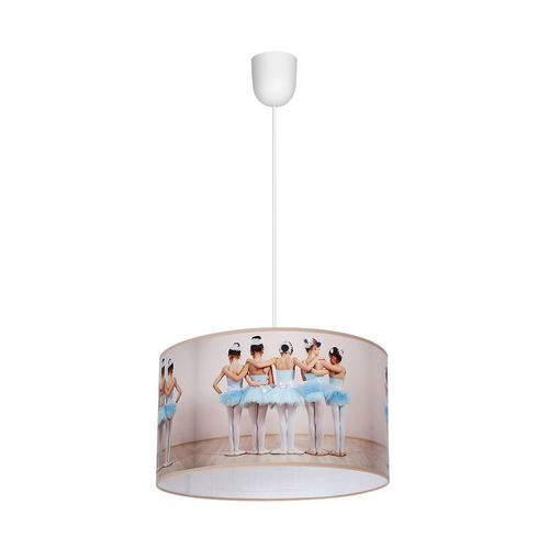 Multicolor Hanging Lamp Ballerina 1x E27