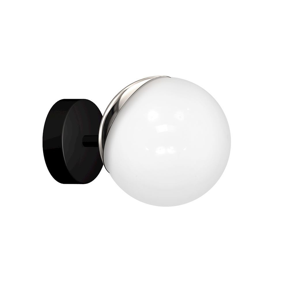 Chrome Wall lamp Sfera 1x E14