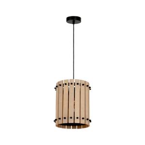Wood Egon 1x E27 Hanging Lamp small 0
