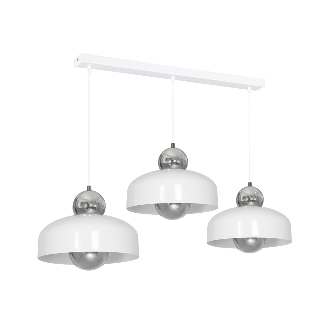 Harald White Hanging Lamp 3x E27