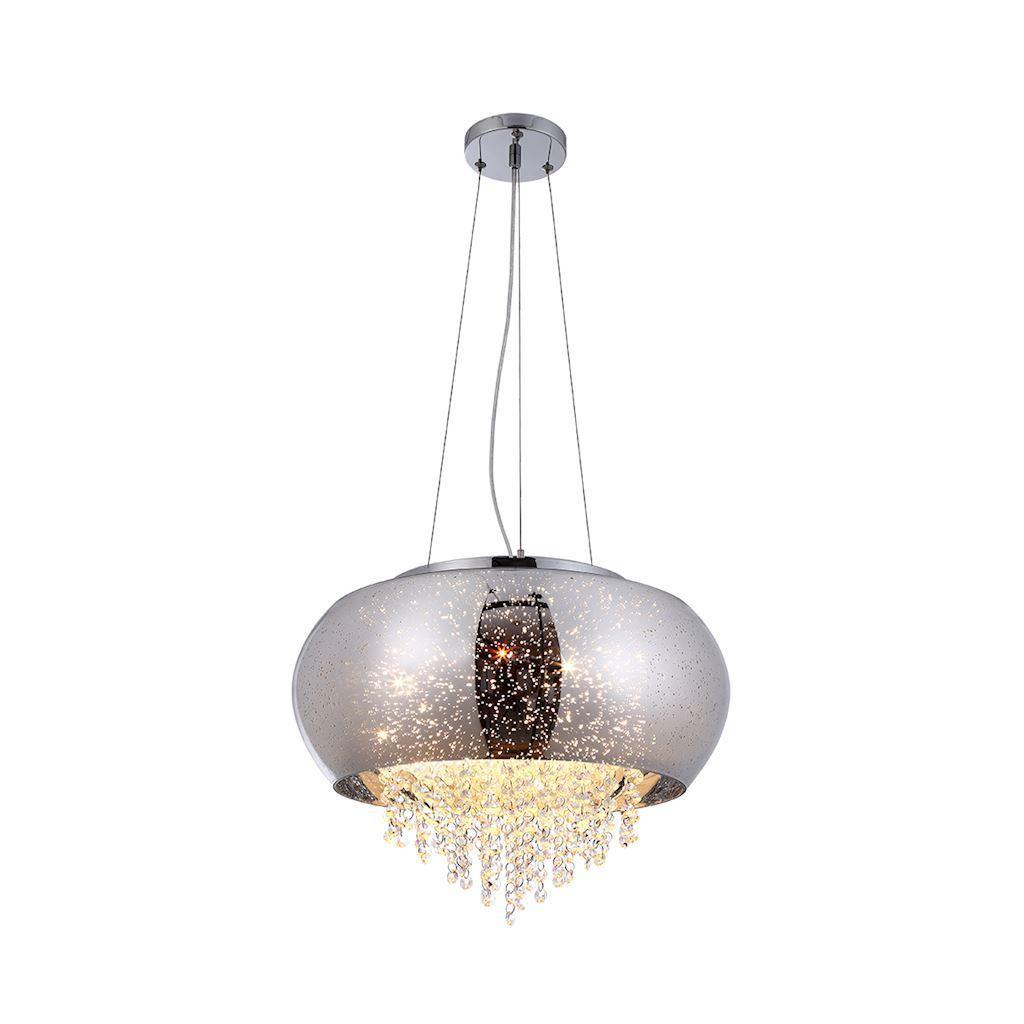 Crystal Pendant Lamp Starlight 4x E14