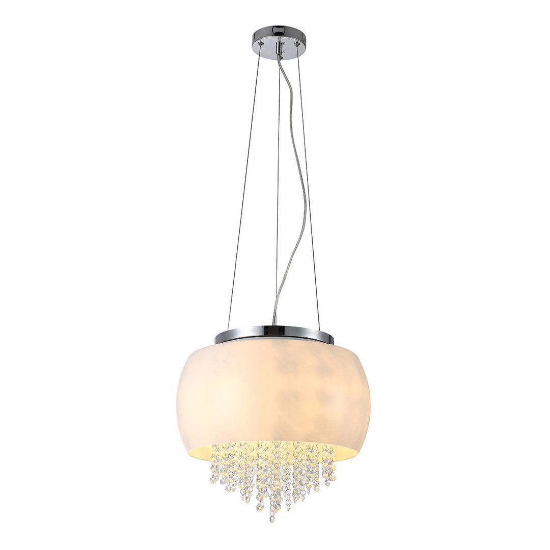 Crystal Hanging Lamp Nova 3x E14 Led