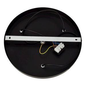Black Hanging Lamp Sphere Black 3x E14 small 3