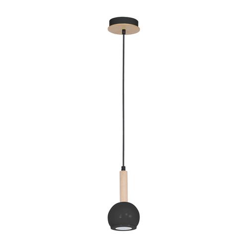 Black Bolle Black 1x Gu10 Hanging Lamp