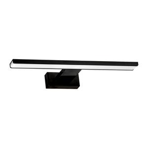 Black Wall lamp Shine Black 7 W LED IP44 small 6