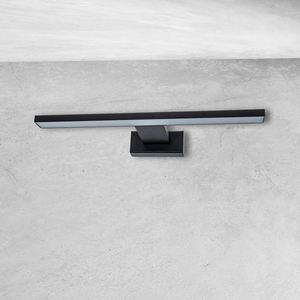 Black Wall lamp Shine Black 7 W LED IP44 small 4