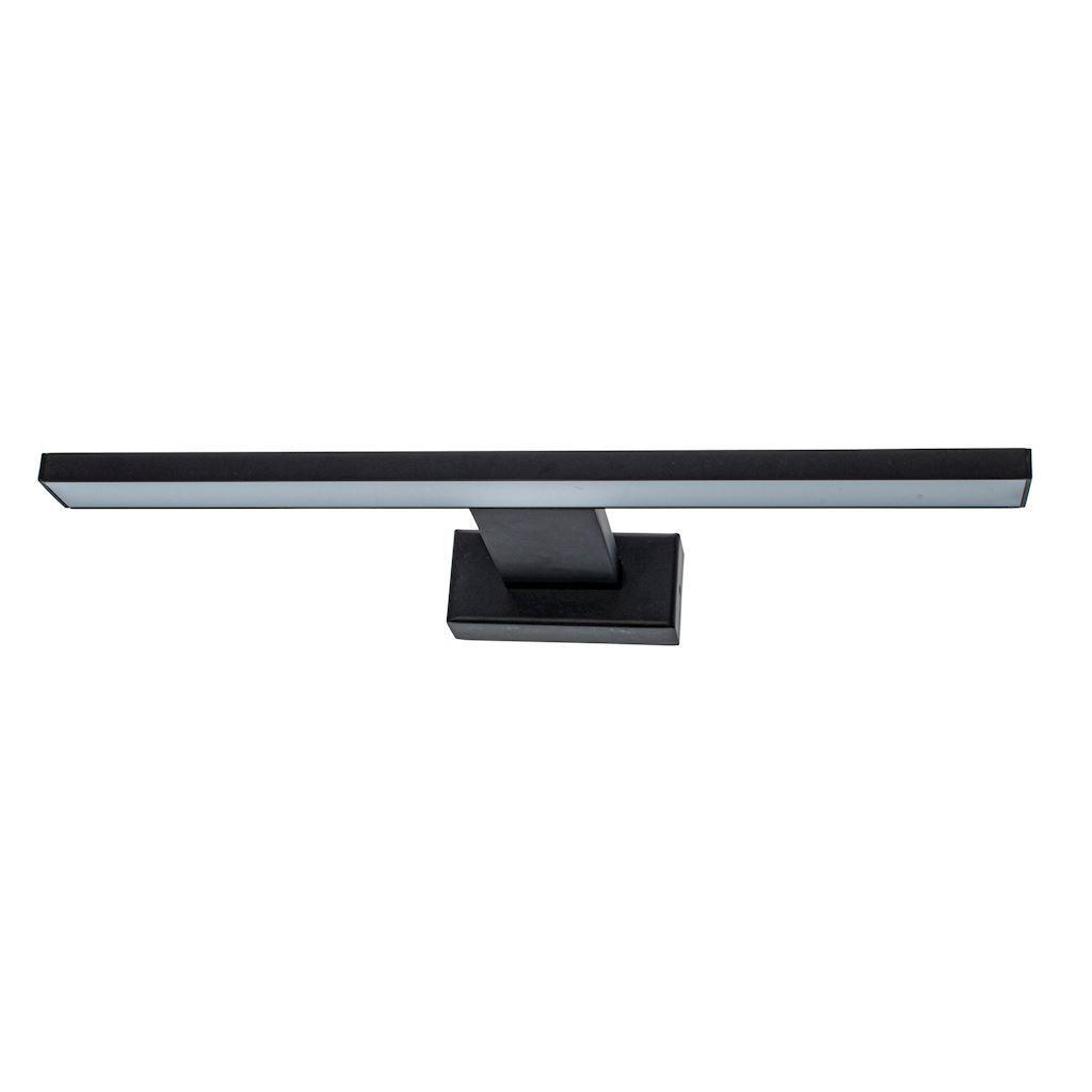 Black Wall lamp Shine Black 7 W LED IP44
