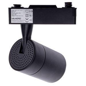 Black Ceiling Lamp Track Light 7 W Led Black 3000 K small 1