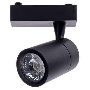 Black Ceiling Lamp Track Light 7 W Led Black 3000 K small 0