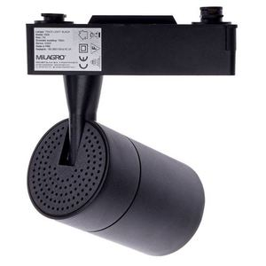Black Ceiling Lamp Track Light 7 W Led Black 4000 K small 1