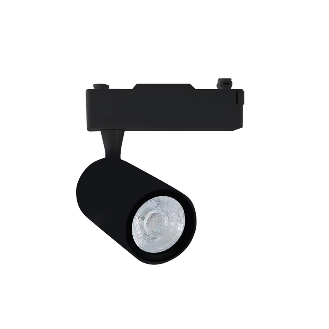 Black Ceiling Lamp Track Light 12 W Led Black 4000 K