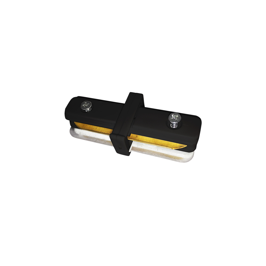 connector Track Light Black Lamps Straight type
