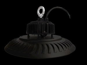 Black Technical Luminaire High Bay 200 W. Color: Neutral IP65 small 1