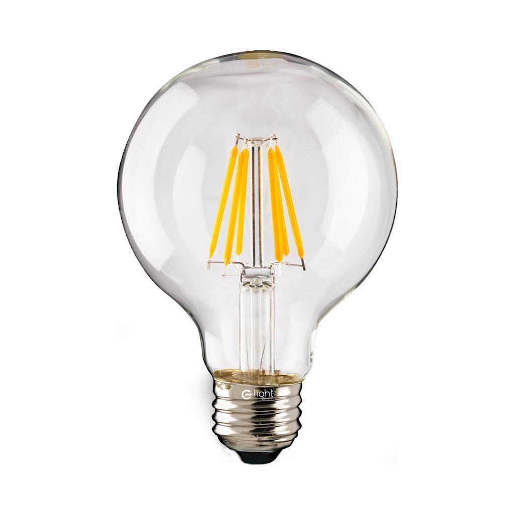 LED Filament Bulb 7 W Ball E27 4000k