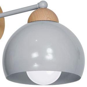 Gray Wall lamp Dama Gray 1x E27 small 3