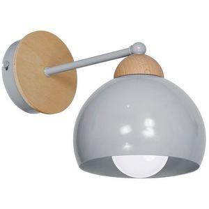 Gray Wall lamp Dama Gray 1x E27 small 0