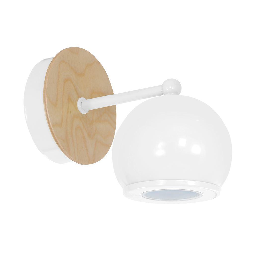 Bolle White 1x Gu10 Wall Lamp