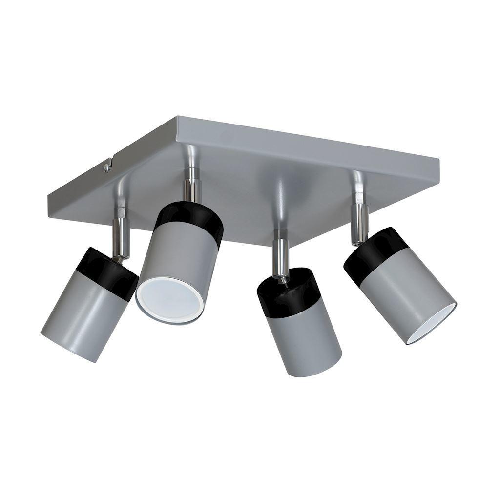 Gray Ceiling Lamp Joker Gray 4x Gu10
