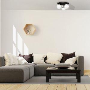 Chrome Ceiling Lamp Sfera 3x E14 small 4