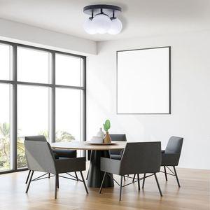 Chrome Ceiling Lamp Sfera 3x E14 small 5