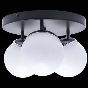 Chrome Ceiling Lamp Sfera 3x E14 small 7