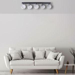 Chrome Ceiling Lamp Sfera 5x E14 small 4